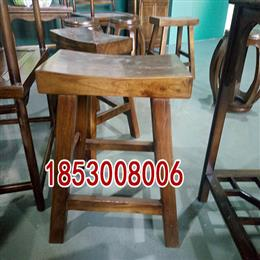 榆木元宝凳仿古餐凳学生凳