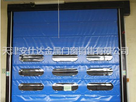 天津西青区定做安装快速卷帘门天津抗风卷帘门维修中心