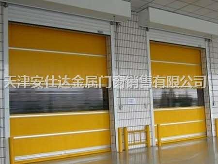 天津西青区快速卷帘门厂家,专业安装工业提升门
