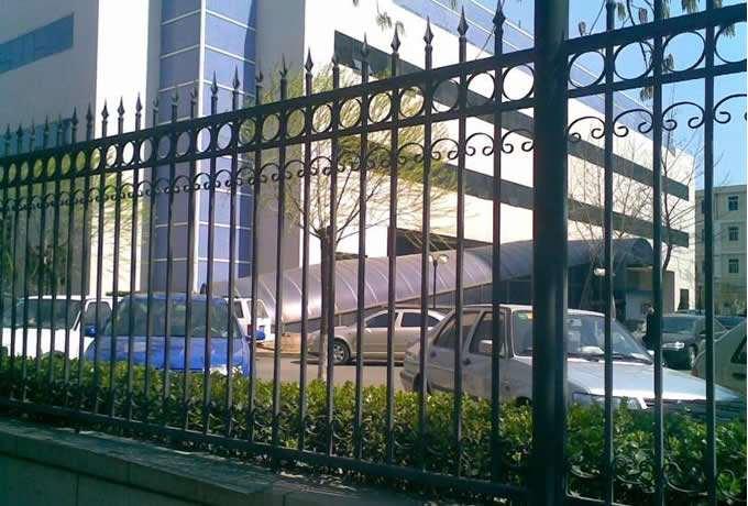 天津南开区专业安装豪华铁艺大门