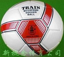 火车头足球 5号贴皮PU足球 高级比赛用球