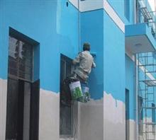 成都外墙粉刷,外墙清洗,专业服务,捷诚高空作业公司