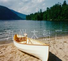 欧式木船 休闲小木船