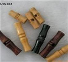 现货供应竹节扣木橄榄扣沙发配件