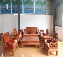 东阳红木家具六合同春沙发
