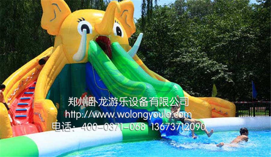 郑州卧龙 充气游泳池 价格