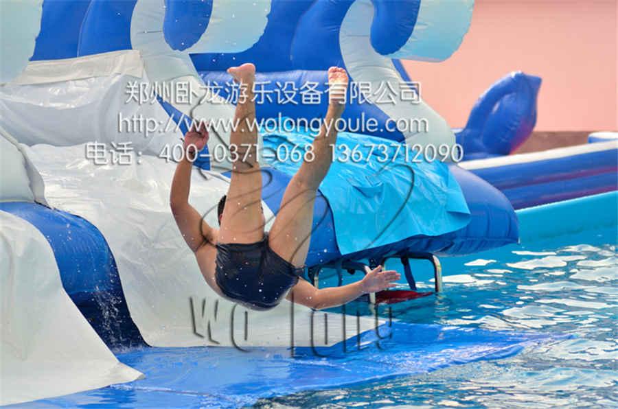 娱乐设备价格 大型冲气游泳池