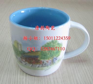 商务礼品杯,陶瓷杯子定做,广告水杯,北京