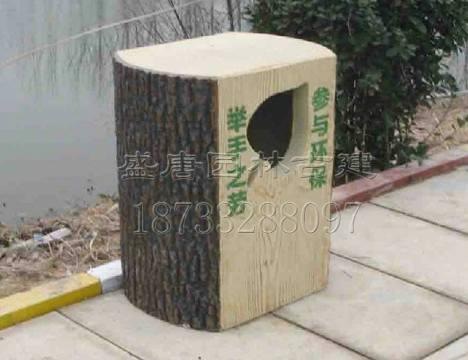 【水泥仿木垃圾桶销售厂家】价格