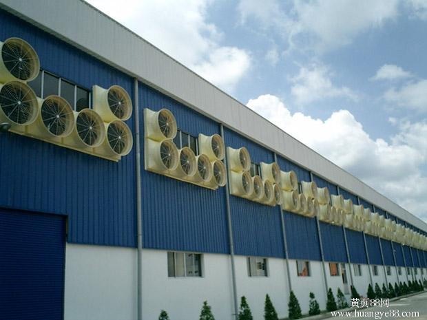 常州降温去异味设备,厂房通风设备,工厂排