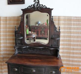 闸北区红木台子回收老红木梳妆台收购