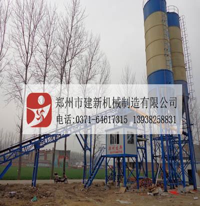 HZS90搅拌站国内景气工程机械行业发展火热