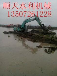 宣化区湿地挖掘机租赁服务水陆两用挖掘机出