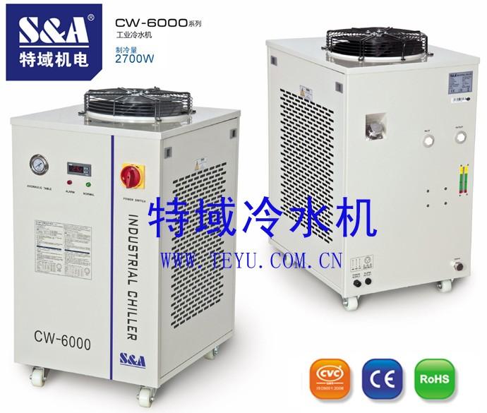 特域循环冷水机用于冷却中频逆变电阻焊机