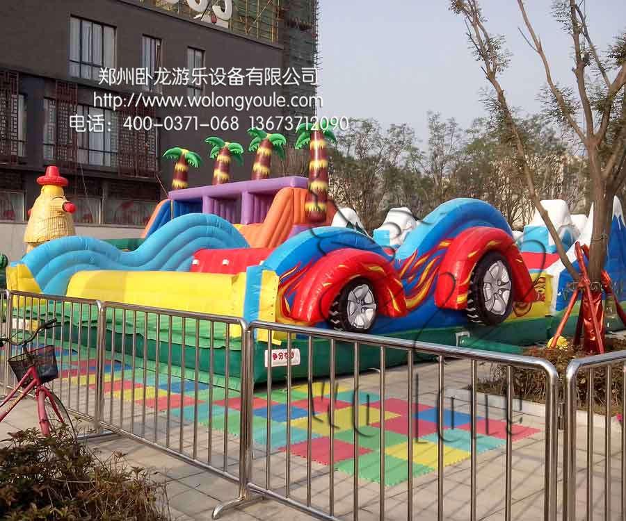 郑州卧龙 鲸鱼岛乐园设备 价格