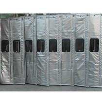 天津冬季保温透明帆布窗口棉门帘厂家批发