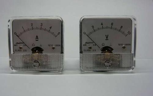 日本okusawa電流表電壓表