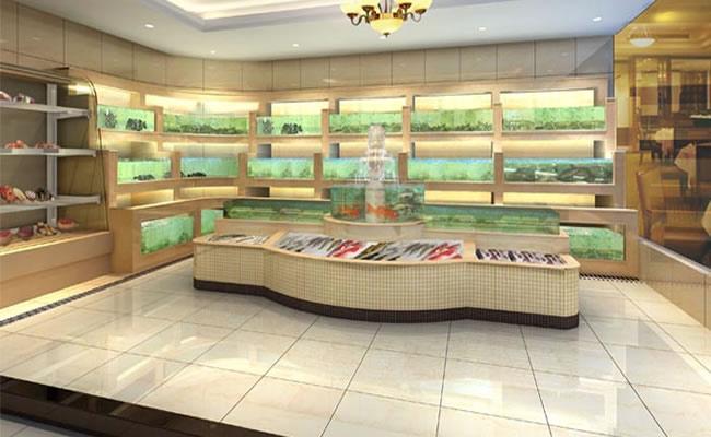 海鲜鱼池设计_制作大型海鲜缸/制作_海鲜池制作专业设计