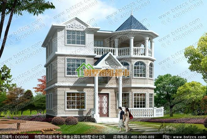 湖南農村自建房設計圖