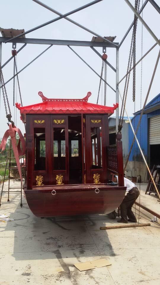 大型画舫船,餐船,旅游船,手工木船,木船