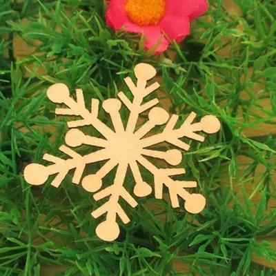 创意木制品圣诞饰品外形激光切割