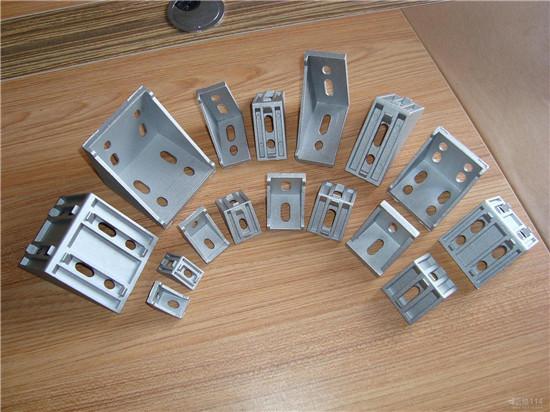沈阳市铝材直角件 铝角码