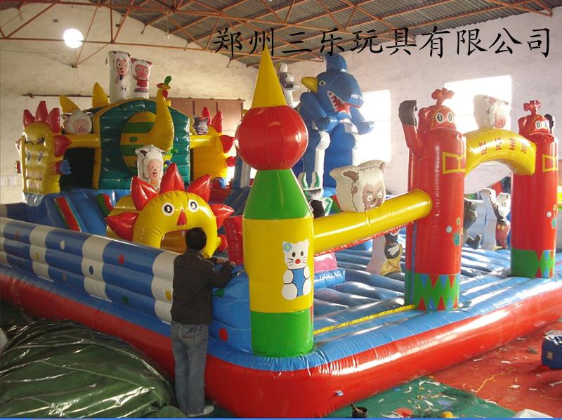 黑龙江鸡西充气城堡漂亮可爱造型多