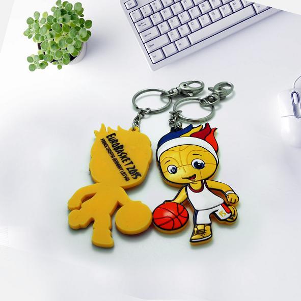 硅胶钥匙扣_钥匙扣厂家_卡通钥匙扣