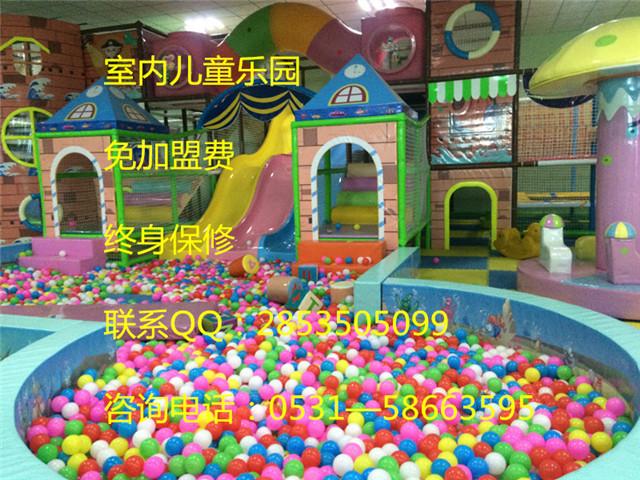滨州光腚猴儿童乐园寒冬人气高涨