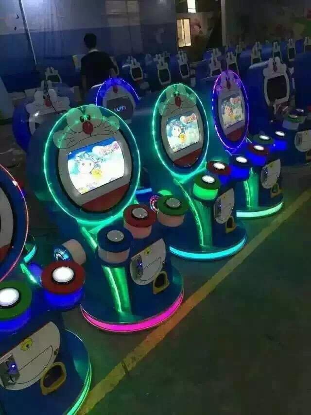 投币打鼓游戏机 天才小鼓手淘气堡游乐设备