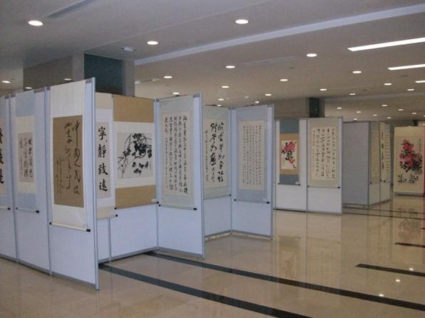 展览屏风 活动宣传广告 展板屏风 展会艺术板墙