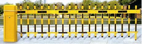 建国门外安装电动道闸