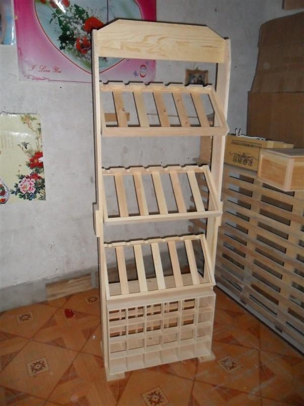 幼儿园鞋盒制作书架