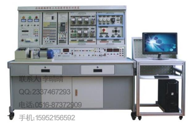 一、概述 初/中/高性能维修电工及技能实训装置是根据机械工业职业技能鉴定指导中心组织编写的《机械工人职业技能培训教材》研制生产的,可对《初级维修电工技术》《中级维修电工技术》《高级维修电工技术》教材中列出的电气控制线路和实用电子线路进行实际操作,快速掌握课程的实用技术与操作技能。具有针对性、实用性、科学性和先进性,该实训装置不仅可供学生学习锻炼,更是劳动鉴定部门、大中专院校、职校、技校初级、中、高级维修电工技能考核的理想设备。 二、特点 1、电气控制线路或电子线路实验元器件都装在作为挂板的安装板上,操作