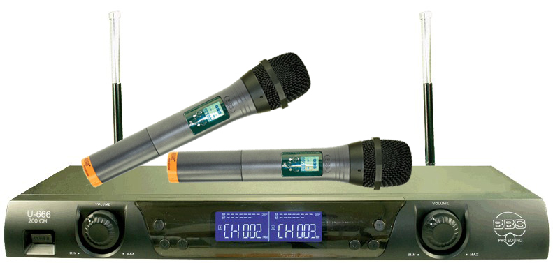 bbs u-666无线麦克风