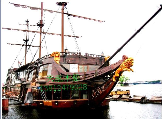 供应厂家直销景区道具船大型海盗船
