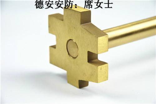 德安安防H59黄铜熔模精铸件加工订制