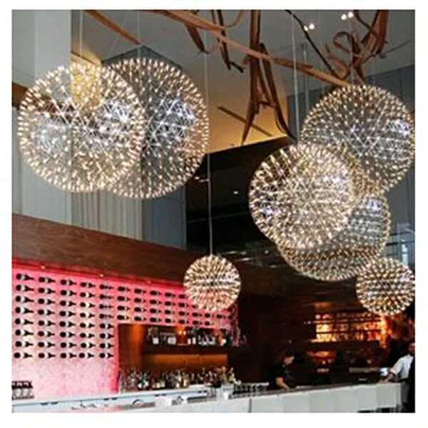 銘星燈飾17年OEM工廠 定制商業公共區域中庭裝飾燈