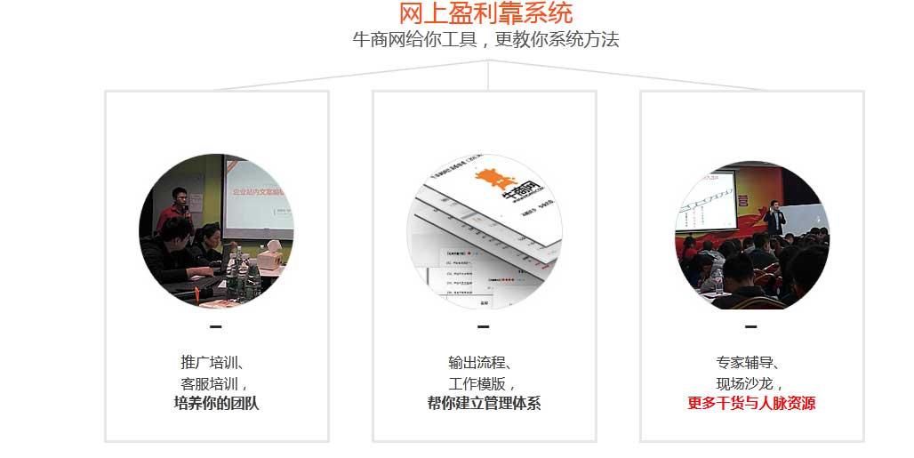 小付出大回报,看牛商网的北京网络营销代运营服务!