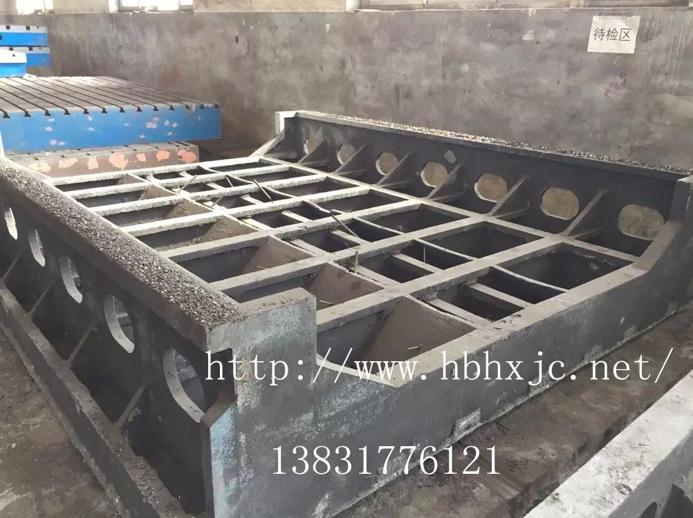 机床铸件 数控切割机机床铸件 大型镗床铸件