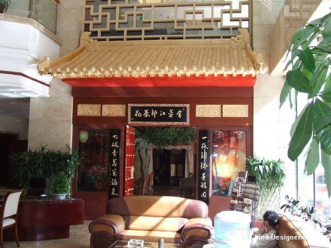 中式门头装饰,仿古门头施工加工,西安门头设计制作