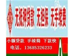 泰州小额贷款公司 个人无抵押贷款13685326233