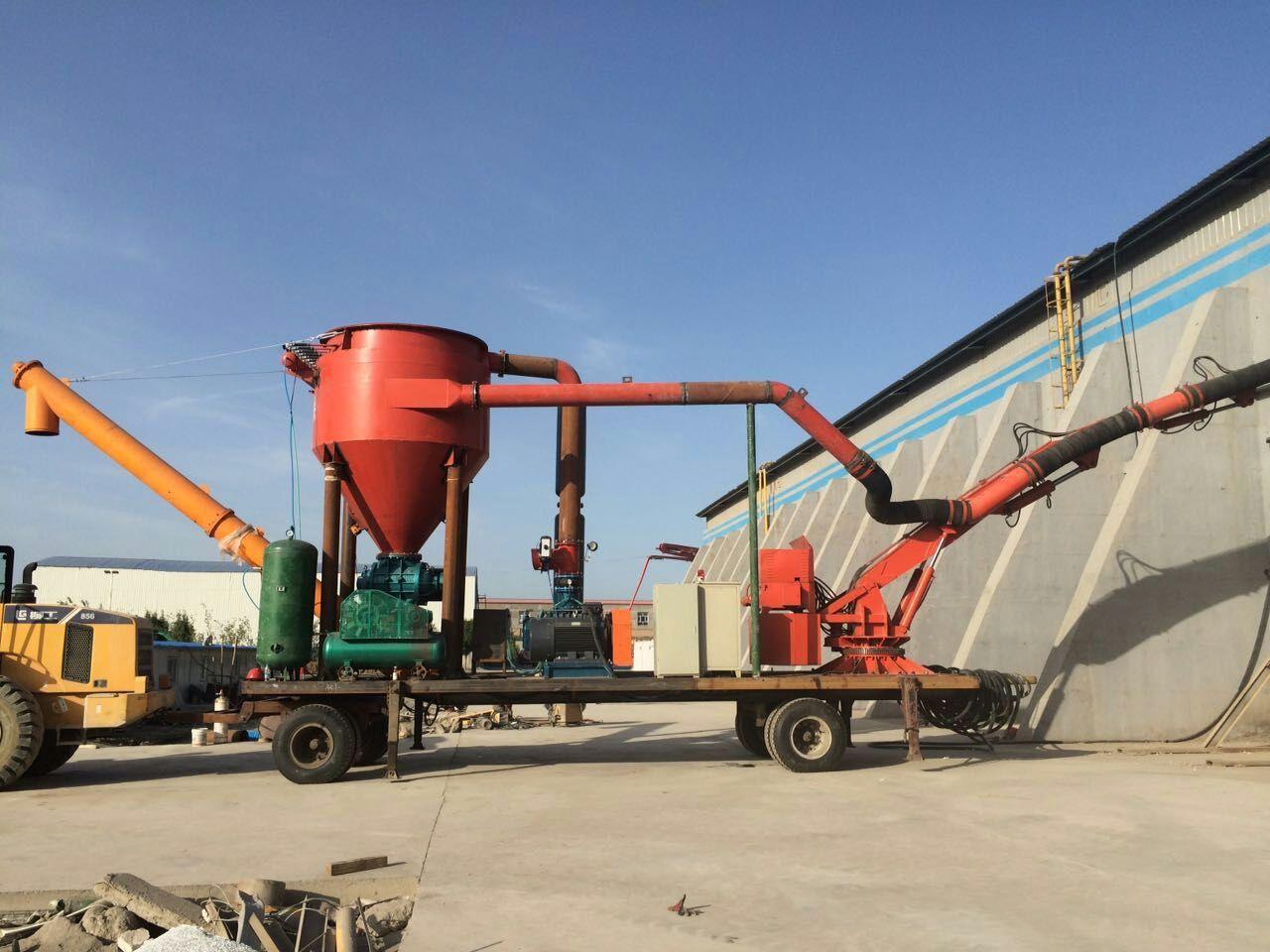 移动式粉料卸船出库装车机
