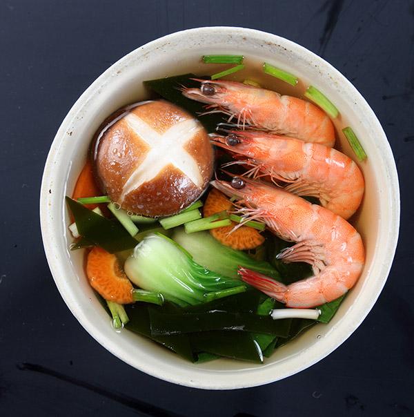 兴利海鲜味香菇汤即食香菇汤速食蔬菜汤方便速食汤料速食