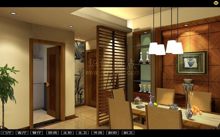 室内空间精细化展示 (虚拟现实),华锐视点