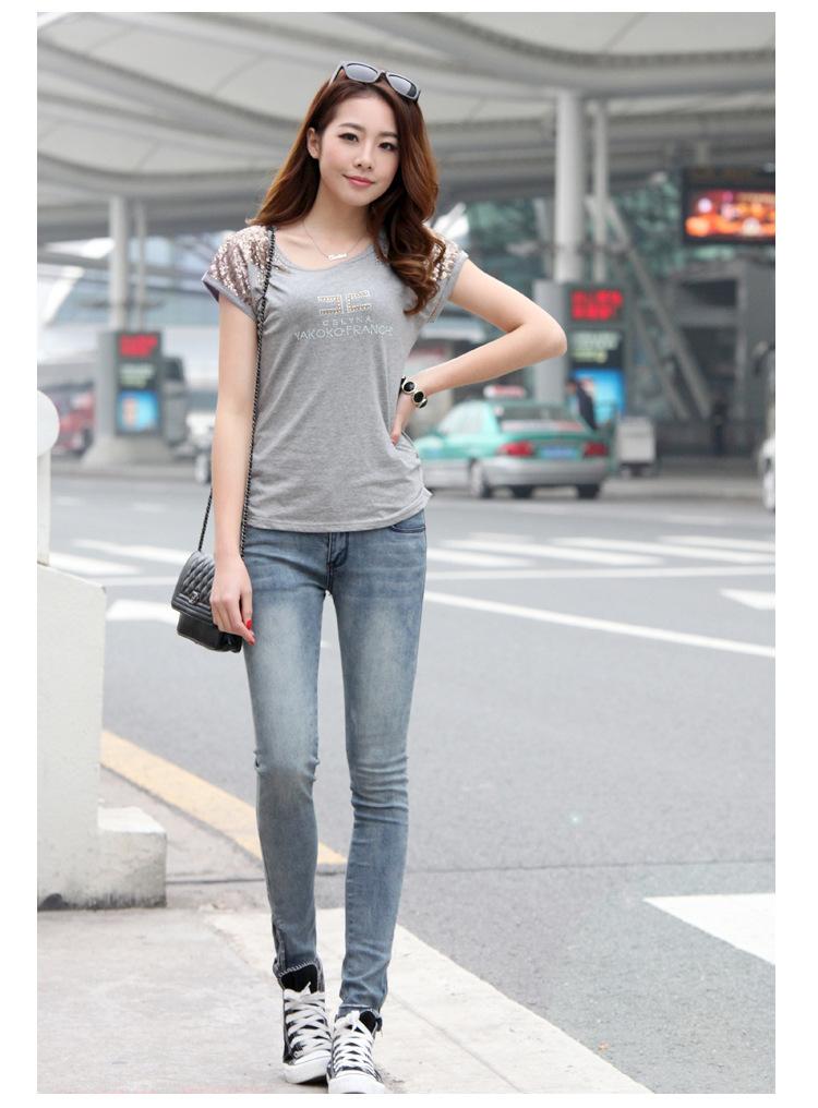 去哪里地摊牛仔裤批发低价10元韩版长裤牛仔裤厂家直销