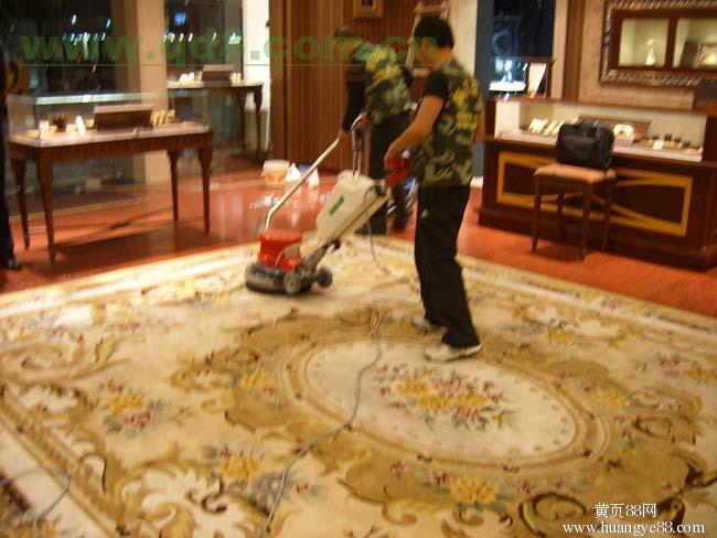 上海黄浦区酒店装修保洁 专业地毯清洗 玻