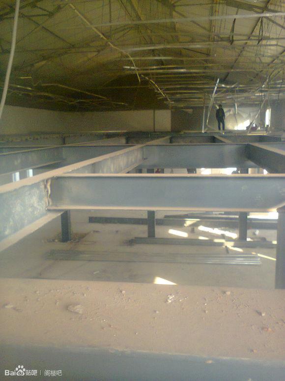 北京门头沟区库房夹层搭建厂房内钢结构二层
