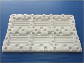 珠三角医药吸塑托盘厂家定制 批发医疗用品吸塑托盘