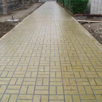 供甘肃彩色水泥地面和兰州水泥地面详情